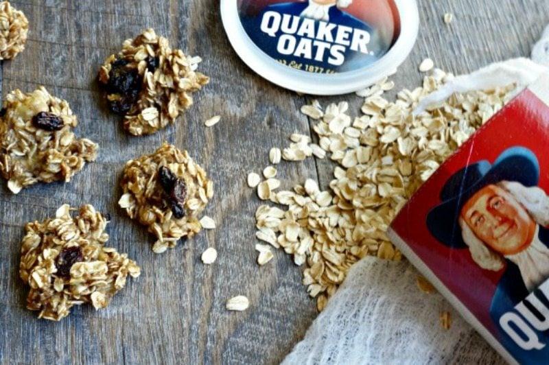 Banana Breakfast Cookies: Oil Free. Vegan. Healthy. No added sugars.