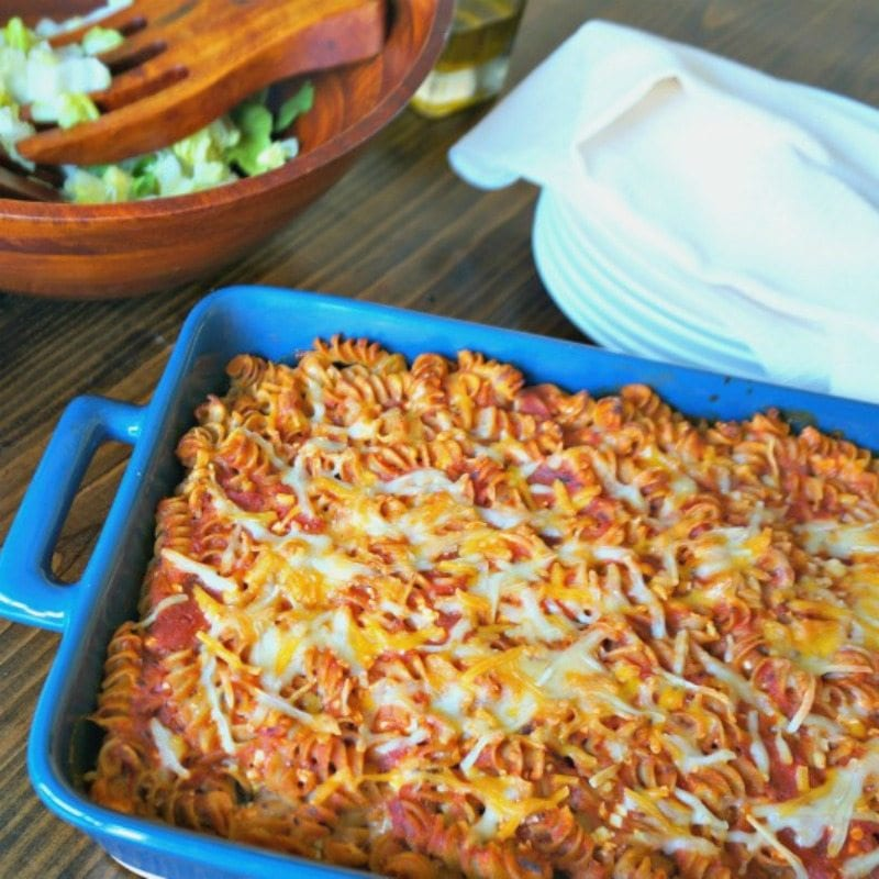 Casserole Dish of Rotini
