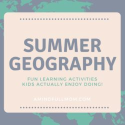 HOMESCHOOL GEOGRAPHY UNIT