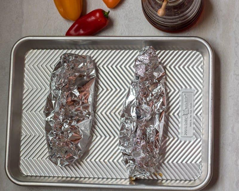 Prepared Chicken Teriyaki Foil Packets