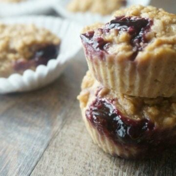 Peanut Butter and Jelly Muffin