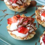 Chocolate Covered Strawberry Cups