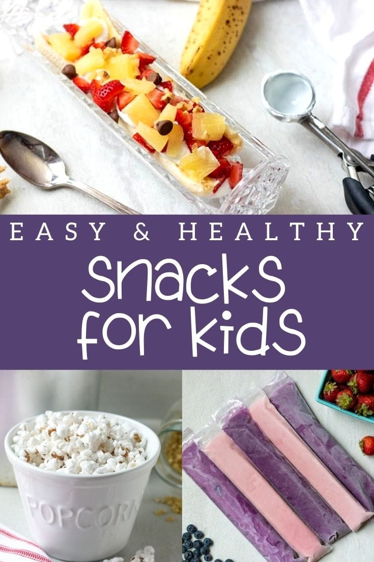 Keep it simple, healthy, fun, and delicious with these wholesome snacks that kids actually WANT to eat! And while they are great all day long, they are especially suited to after-school snack time.