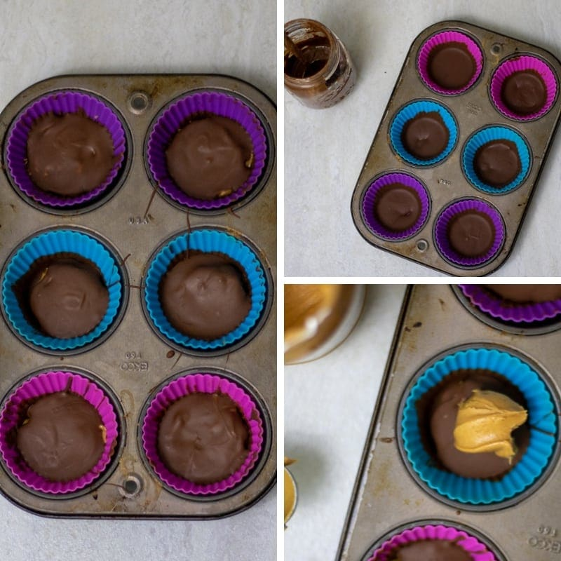 Steps for Reese's Peanut Butter Cups
