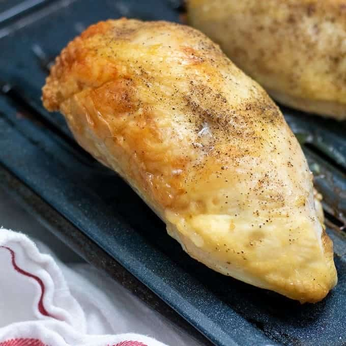 Perfect Oven Roasted Chicken Breasts