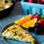 Broccoli & Asparagus Frittata