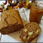 Spiced Apple Bread (Whole Wheat, Low-Fat)
