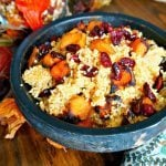 Harvest Quinoa Salad with Pumpkin Vinaigrette