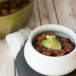 Sweet Potato Black Bean Chili: A hearty and filling vegan chili that packs a large dose of flavor and superiors.