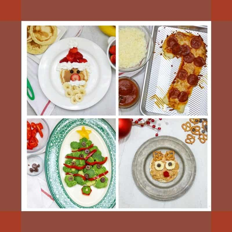 Easy Kid Friendly Christmas Recipes: Creative but EASY ways to bring a little magic to your food this holiday season.