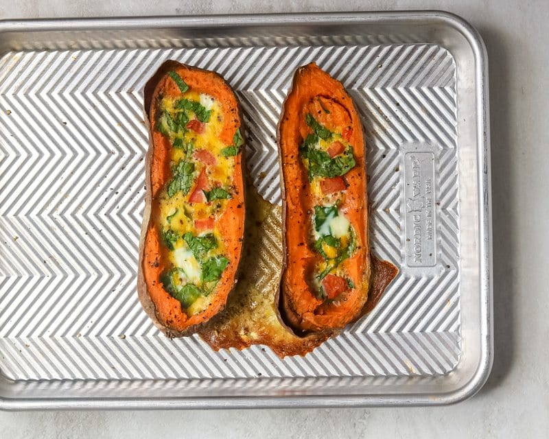 Paleo Egg and Sweet Potato Bake