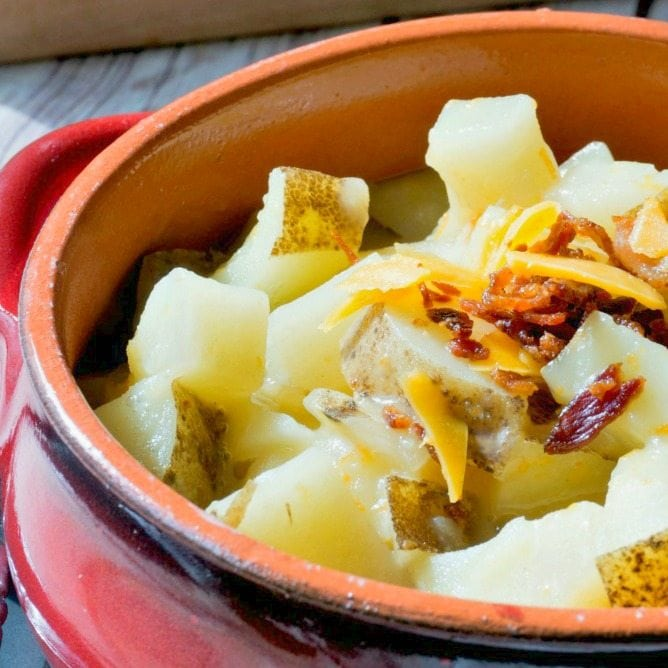 30 Minute Baked Potato Soup Recipe