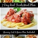 7 Day Italian Meal Plan with Grocery List and Prep Plan
