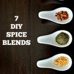 Skip the processed package spice blends. This will not only save you money, but will prevent you from ingesting the nasty additives found in many of those packages.
