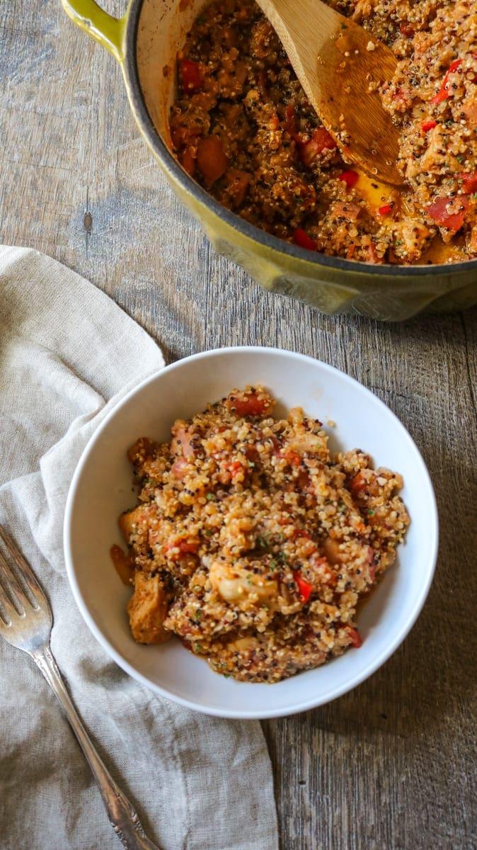 Quinoa Jambalayla