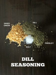 DIY Dill Seasoning