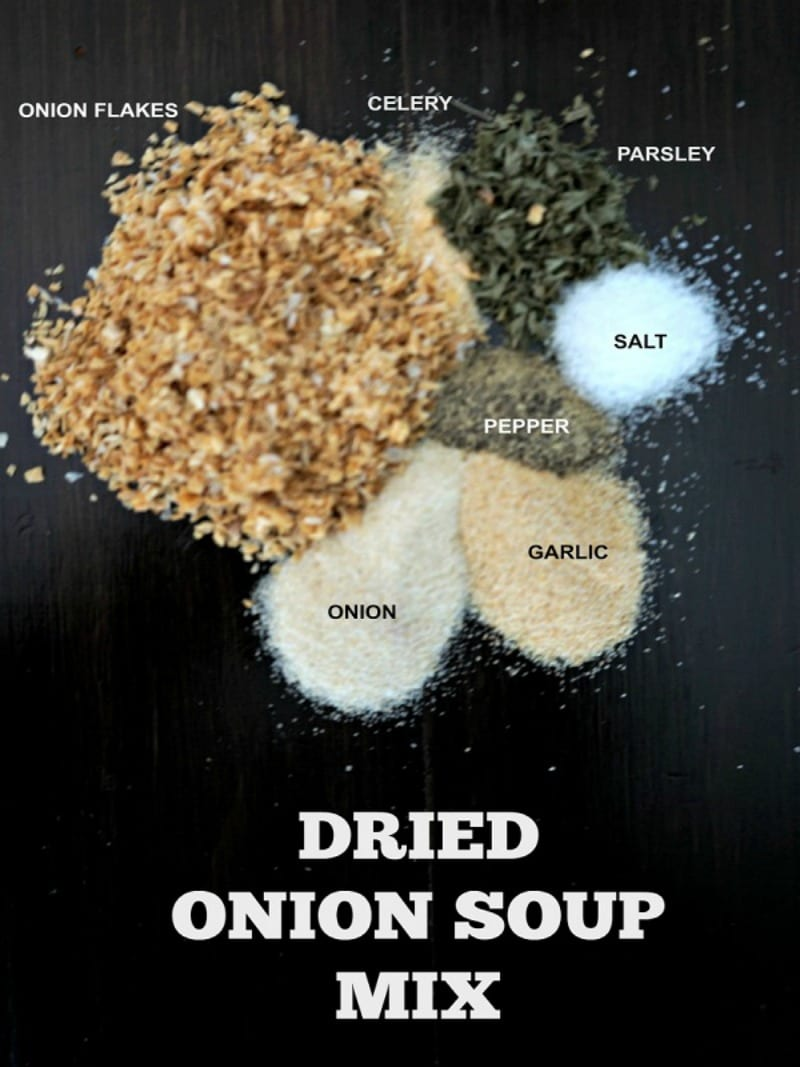 DIY Dry Onion Soup Mix: A simple blend of ingredients that tastes just like the store-bought version.