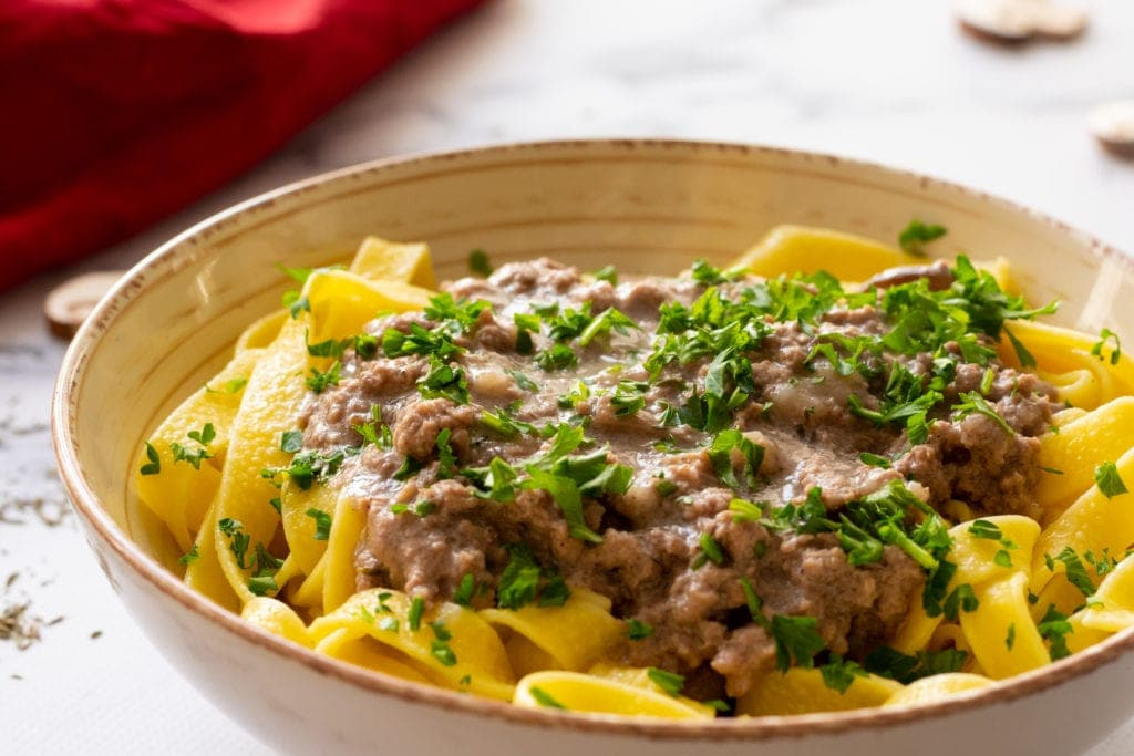 Easy Homemade Beef Stroganoff A Mind Full Mom