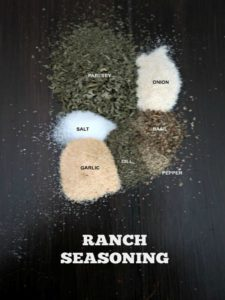 DIY Ranch Seasoning