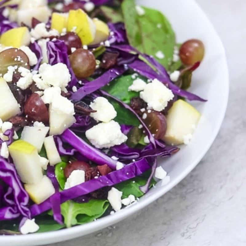 Winter Produce Salad