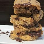 Healthy Oatmeal Chocolate Chip Cookie Bars