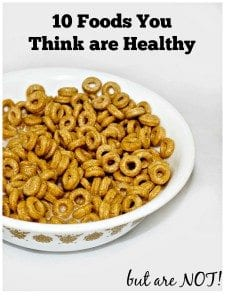 Eating healthy can be confusing. Here are 10 foods you may be purchasing thinking that you are doing yourself a favor but you actually should be avoiding. Let me help you make smarter choices on your journey to health.