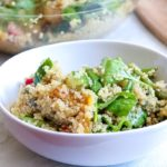 Spinach and Lemon Quinoa Salad