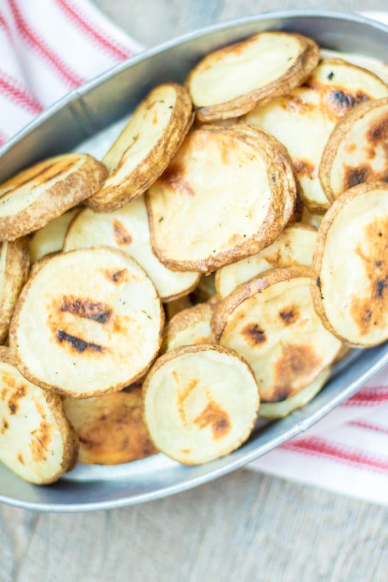 Basket of grilled fries