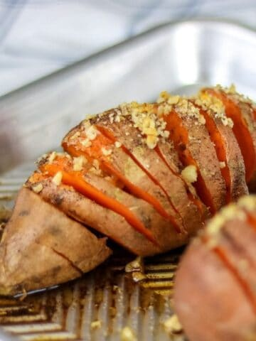 Simple Paleo Baked Sweet Potatoes