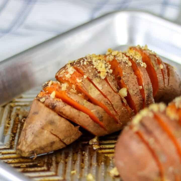 Simple Paleo Baked Sweet Potatoes