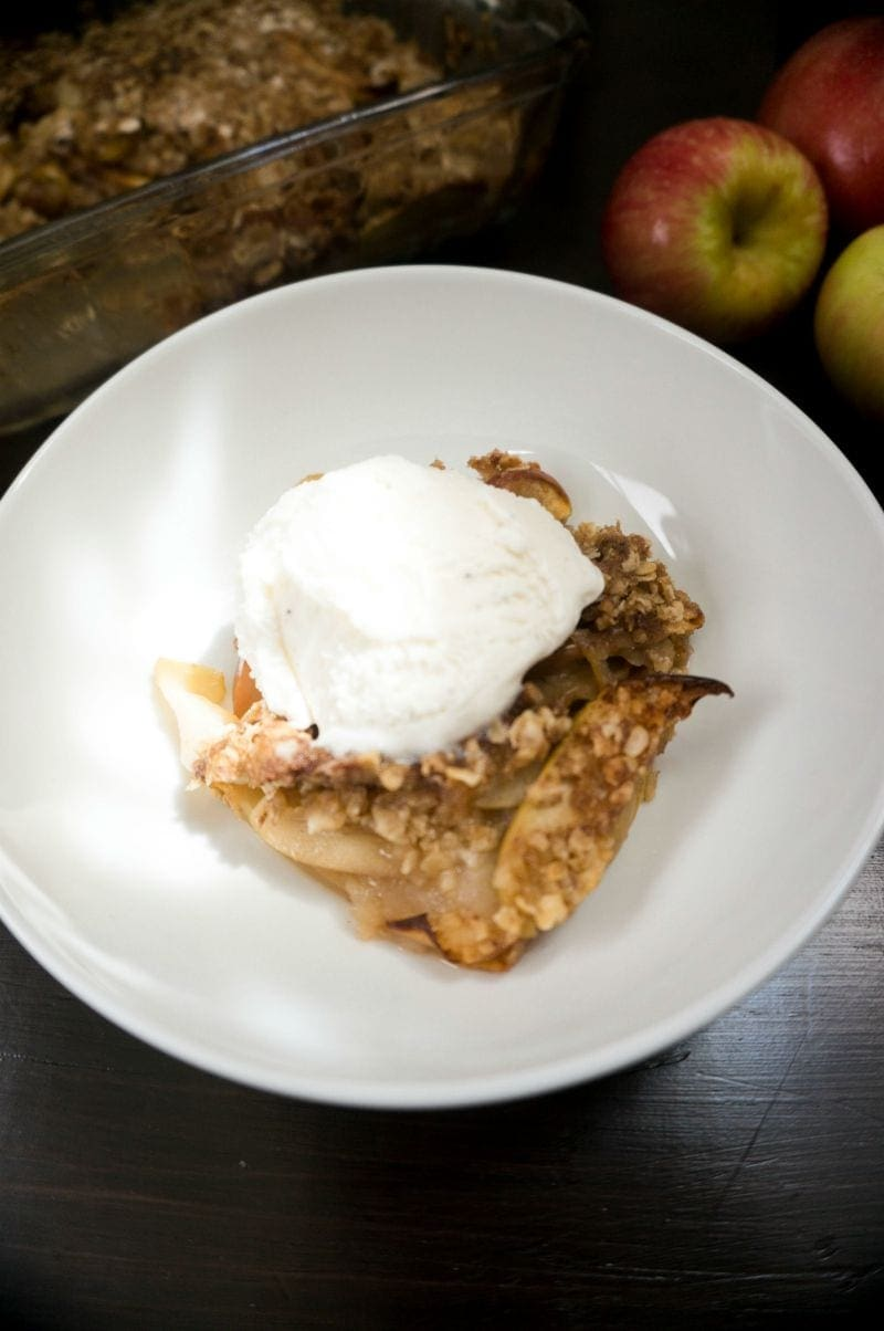 My family's recipe for Apple Crisp has been passed down for years and is MUST have in the fall and winter months. One bite of this easy crisp, you will see why my family is so in love with it!