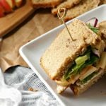 Copycat Panera Roasted Turkey, Apple, and Cheddar Sandwich