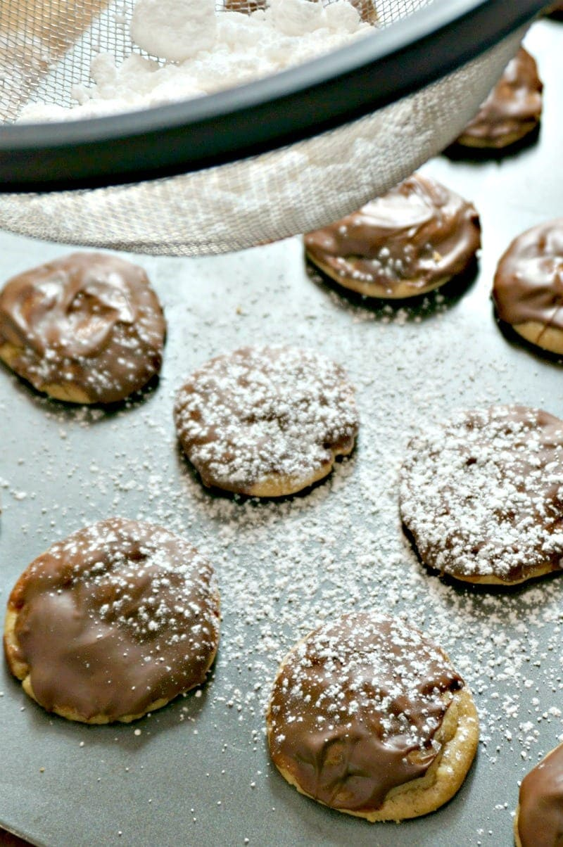Muddy Buddy Cookies: The flavor or your favorite snack mix baked into a cookie. This cookie is pure peanut butter chocolate perfection.