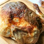Slow Oven Roasted Chicken