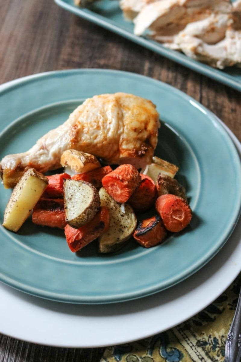 How to make rotisserie chicken in the oven