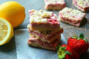 Strawberry Pie Bars
