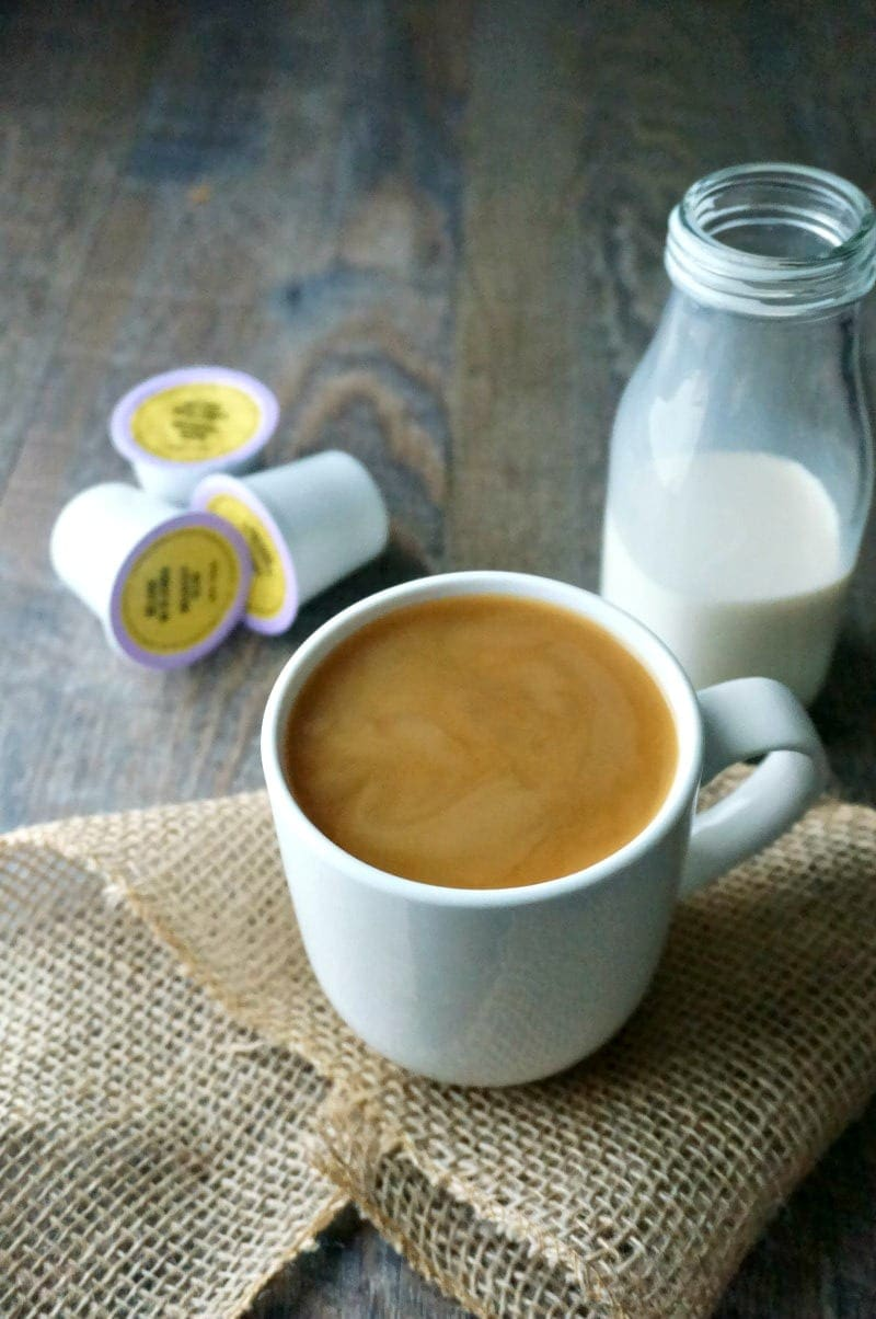 Vanilla Coconut Coffee Creamer: Forget ever having to buy coffee creamer again. 3 ingredients come together to create a rich creamer that is just the right amount of sweet for your morning coffee. #paleo #glutenfree #dairyfree