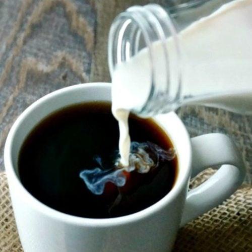 Coconut Vanilla Coffee Creamer | A Mind