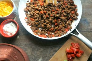 3 Ingredient Taco Meat and 4 Ways to Use It
