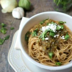 Easy Salsa Verde Pasta