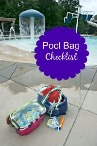 Pool Bag Checklist–What to Pack for the Pool, Lake or Beach