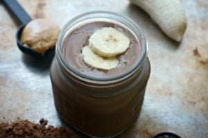 Peanut Butter Cup Power Protein Smoothie