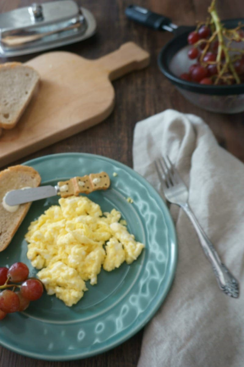 Scrambled eggs for Brinner