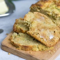 Whole Wheat Zucchini Bread: Farm fresh zucchini and crushed pineapple are the stars in this tender, healthy quick bread.