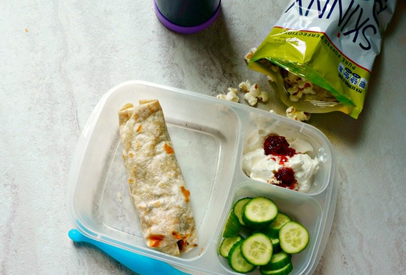 Pack Healthy Lunch: burrito lunch