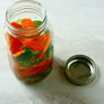 Pickled Asian Vegetables #SundaySupper
