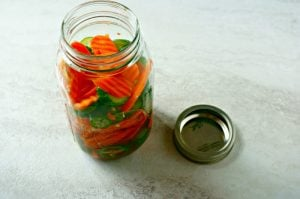 Pickled Asian Vegetables