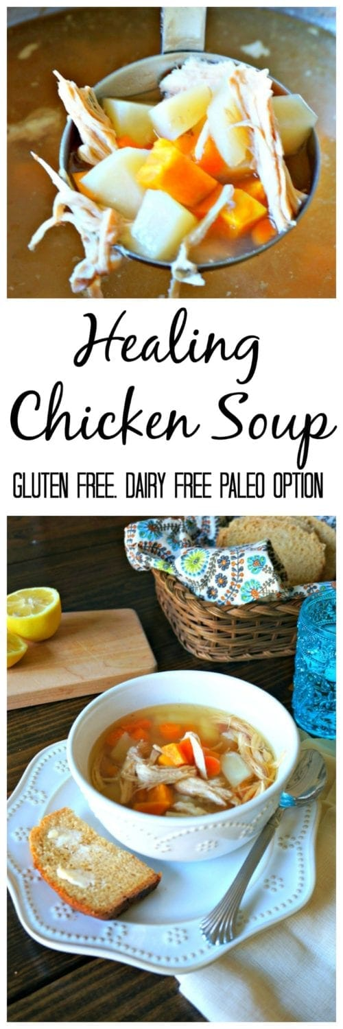 Healing Chicken Soup: A soup that packs a punch right in the face of illnesses due being loaded with antioxidants and immune-boosting properties. Not to mention the most comforting bowl of soup you have ever had.