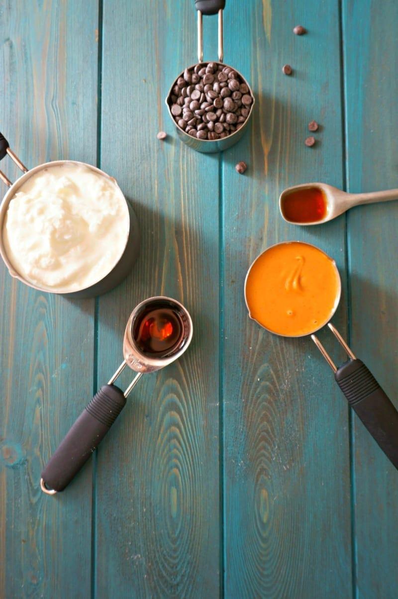 ingredients for Buckeye Dip