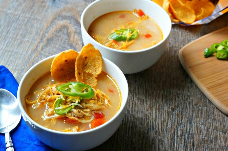 Crock Pot Chicken Ranch Soup